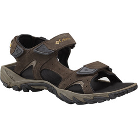 Columbia Santiam 3 Strap Sandals Men Cordovan/Dark Banana